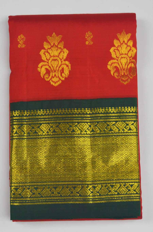 Temple Saree 8014