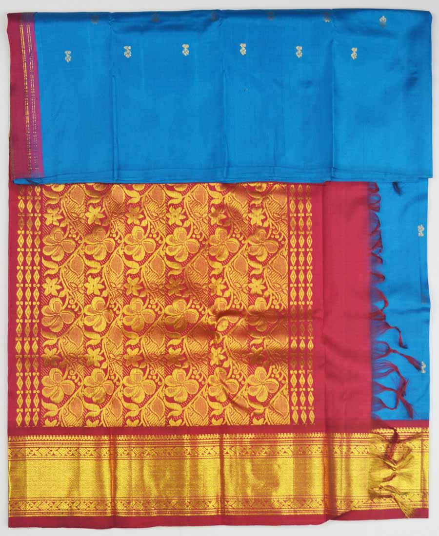 Temple Saree 8119