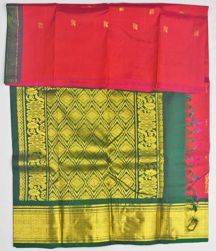 Temple Saree 8164