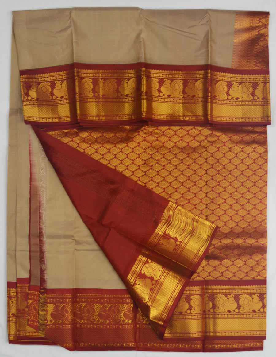 Temple Saree 8191