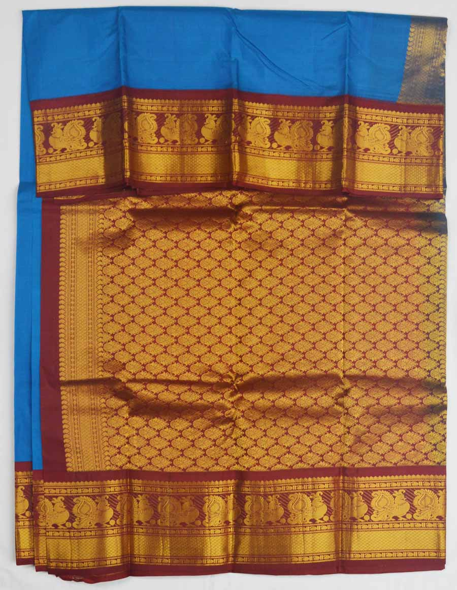 Temple Saree 8192