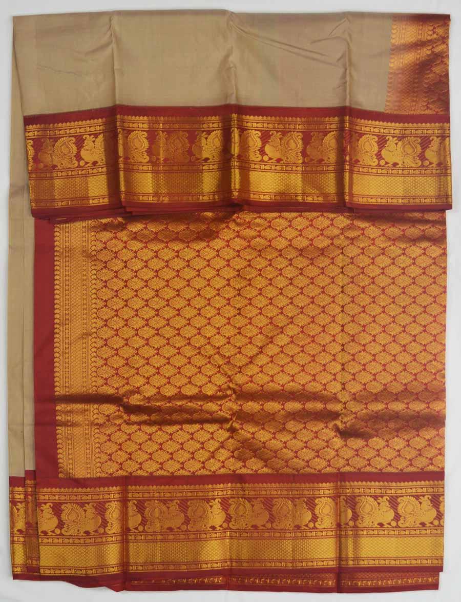 Temple Saree 8191