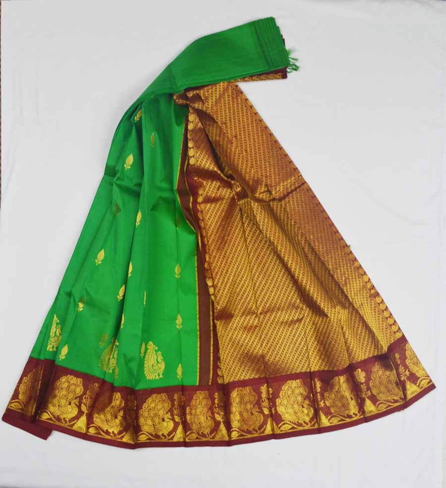 Temple Saree 8373