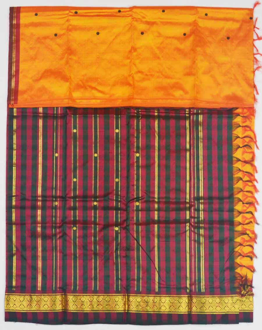 Temple Saree 8341