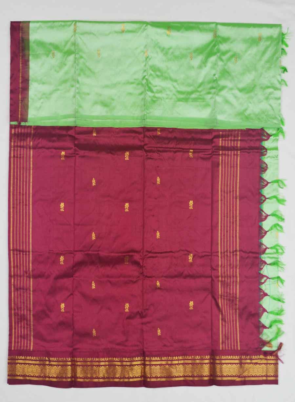 Temple Saree 8380
