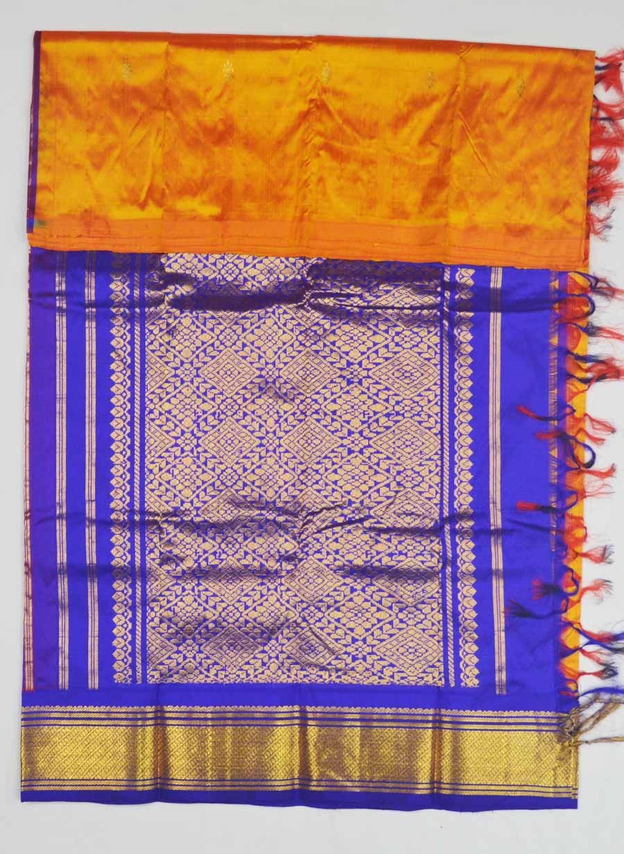 Temple Saree 8379