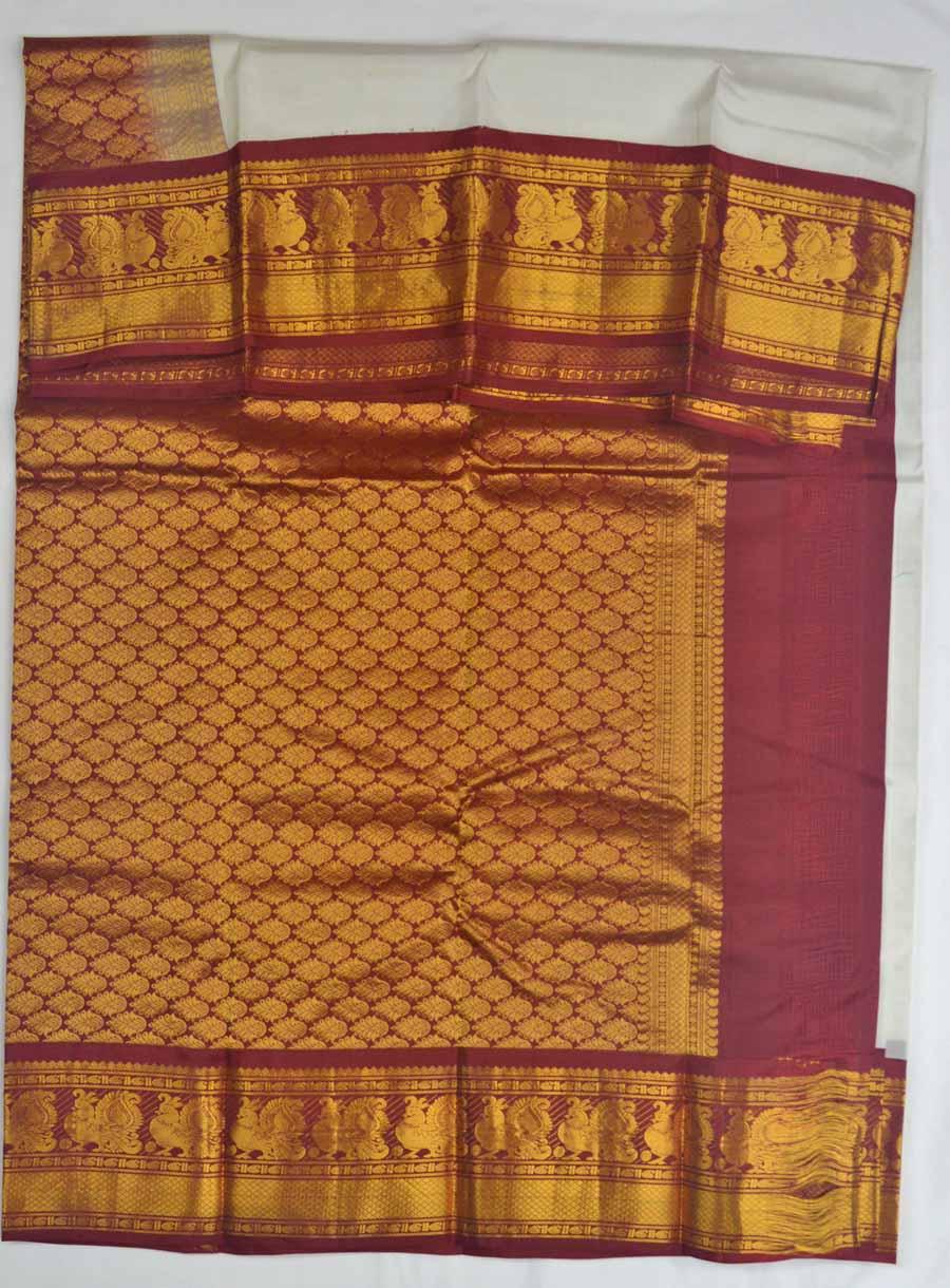 Temple Saree 8338