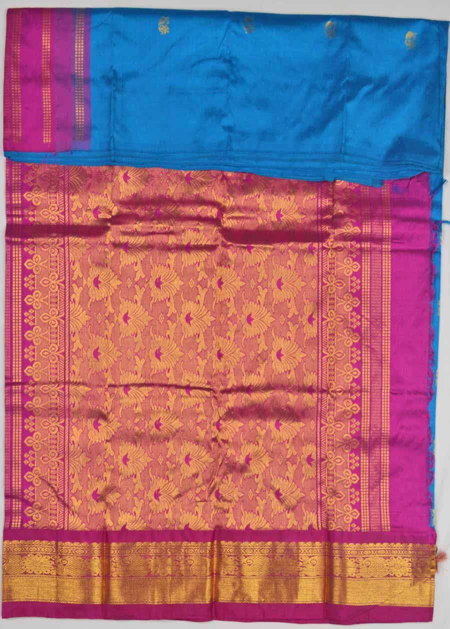 Temple Saree 8543