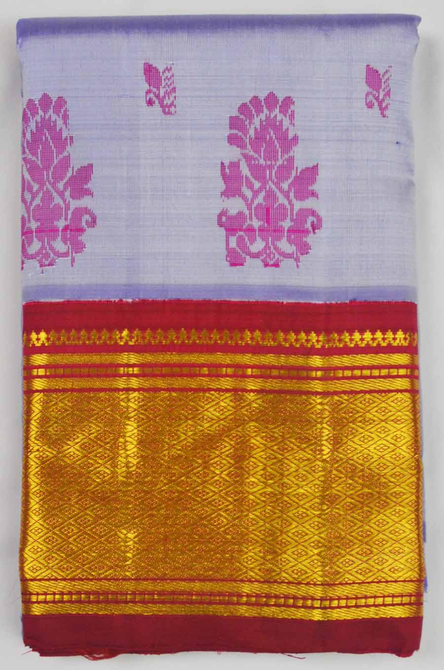 Temple Saree 8491