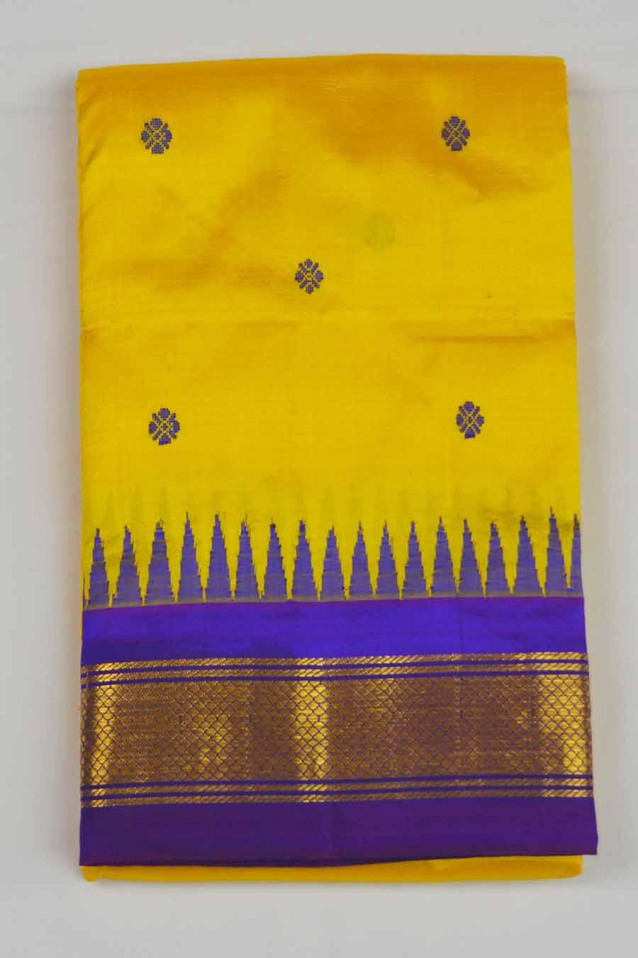 Temple Saree 8635