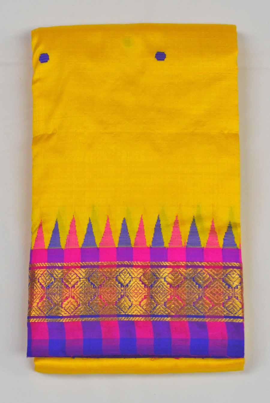 Temple Saree 8633