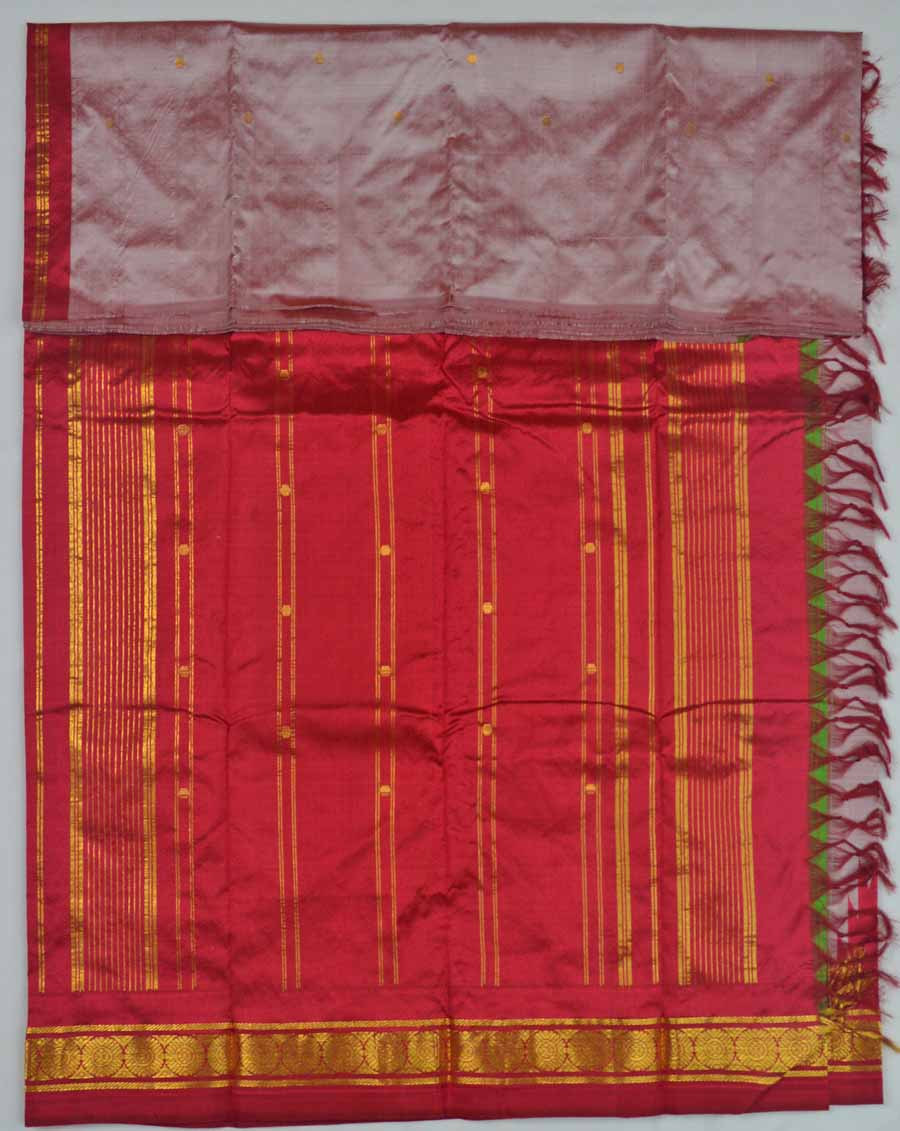Temple Saree 8780