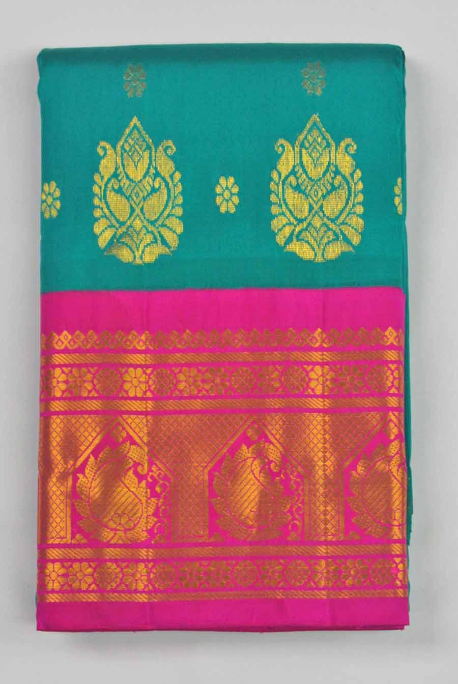 Temple Saree 9615