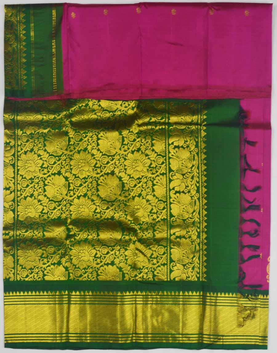 Temple Saree 9613