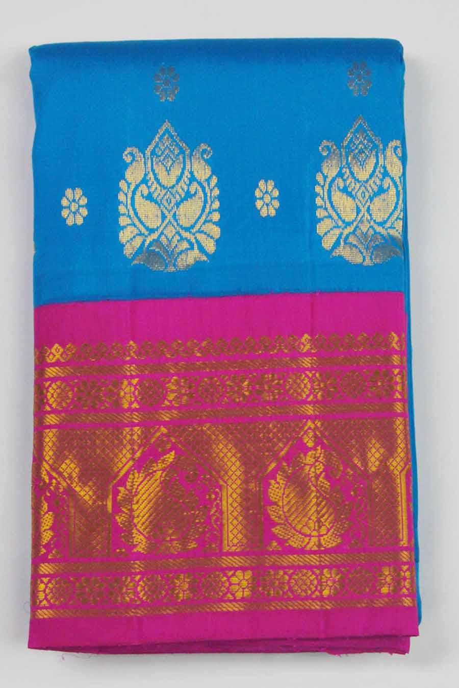Temple Saree 9614