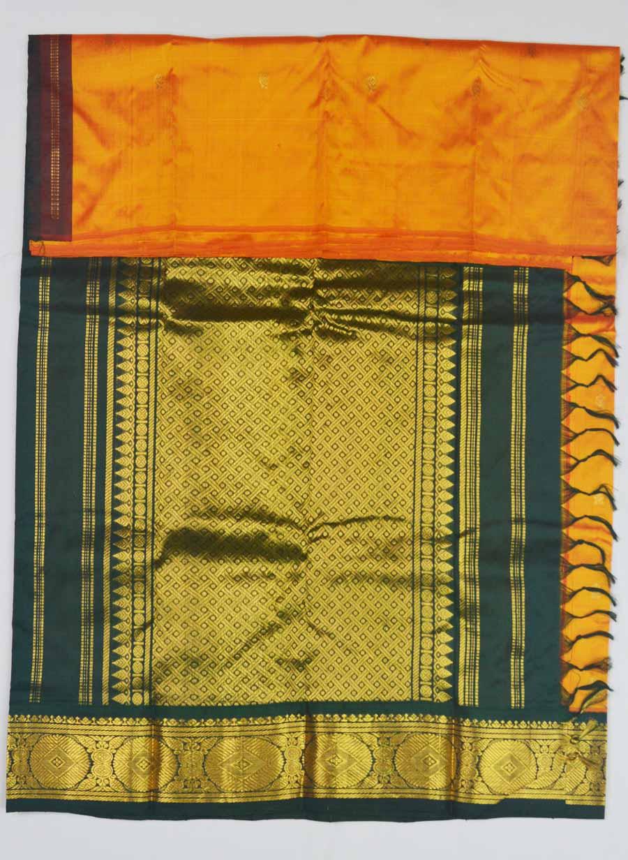 Temple Saree 9592