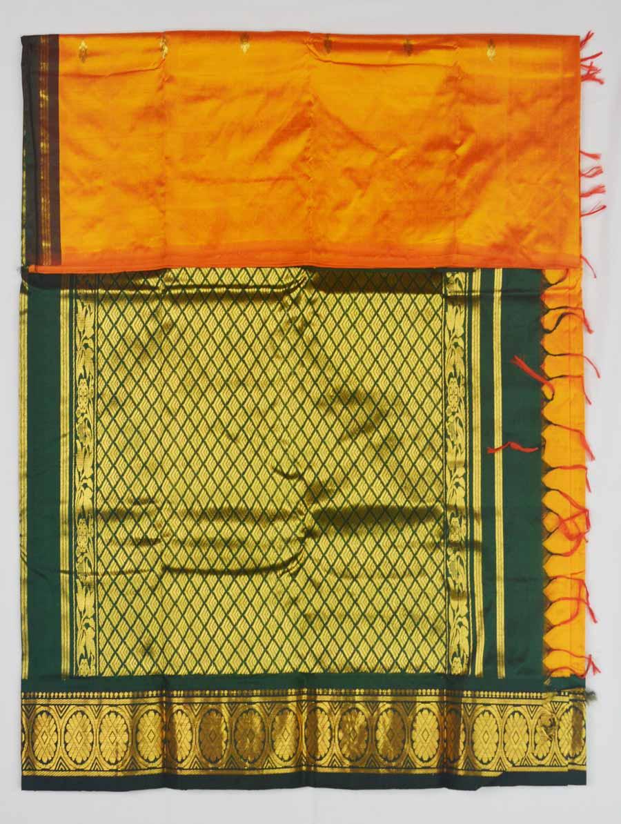 Temple Saree 9593