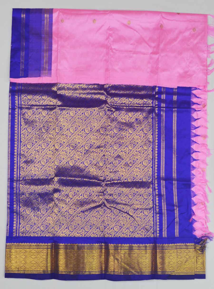 Temple Saree 9591