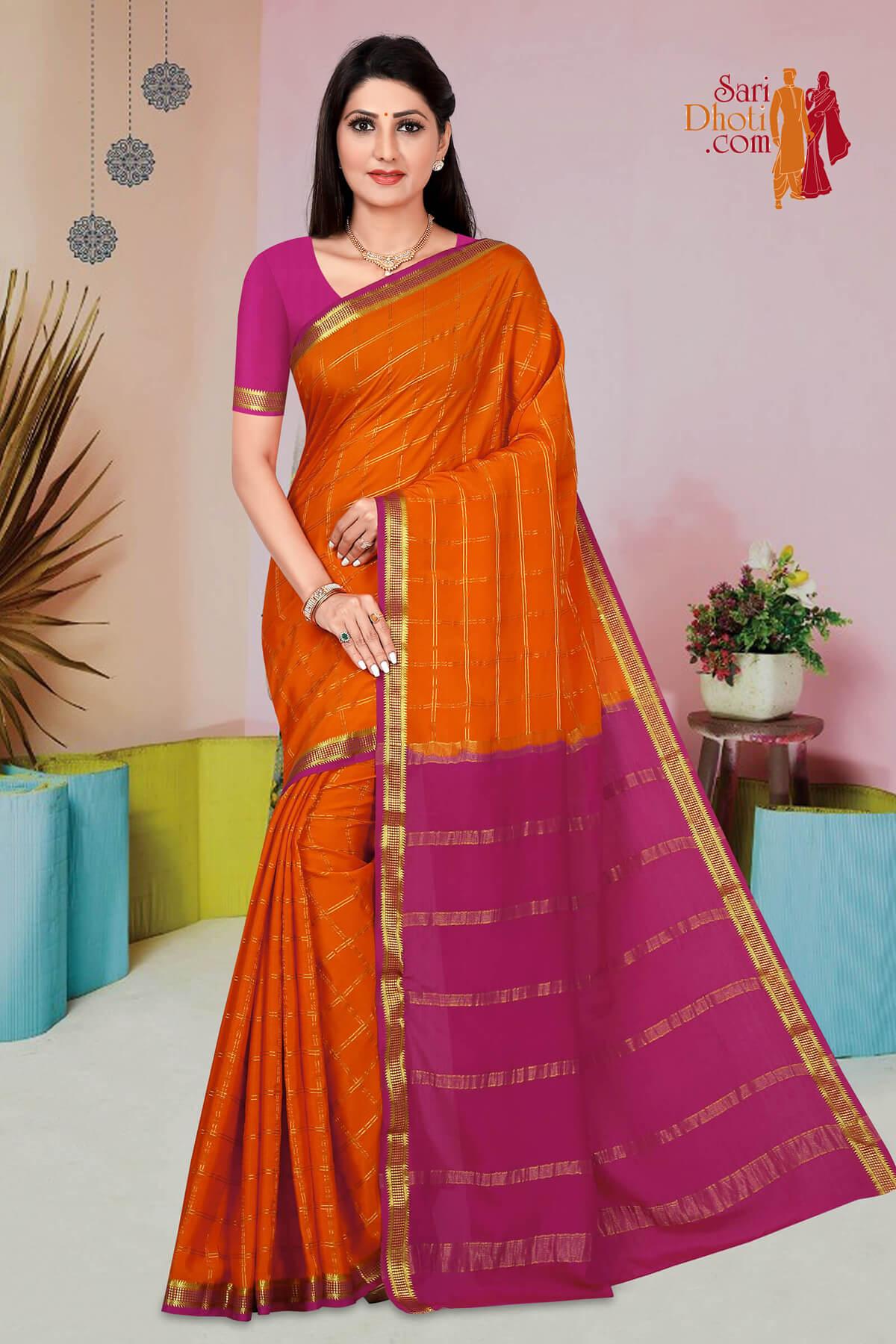 Mysore Silk 9721