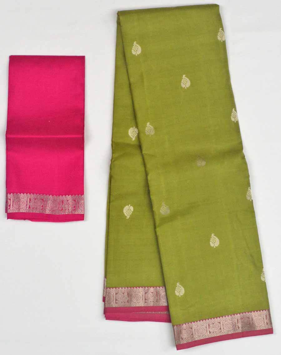 Soft Silk Saree 9877