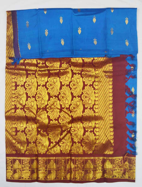 Temple Saree 9738