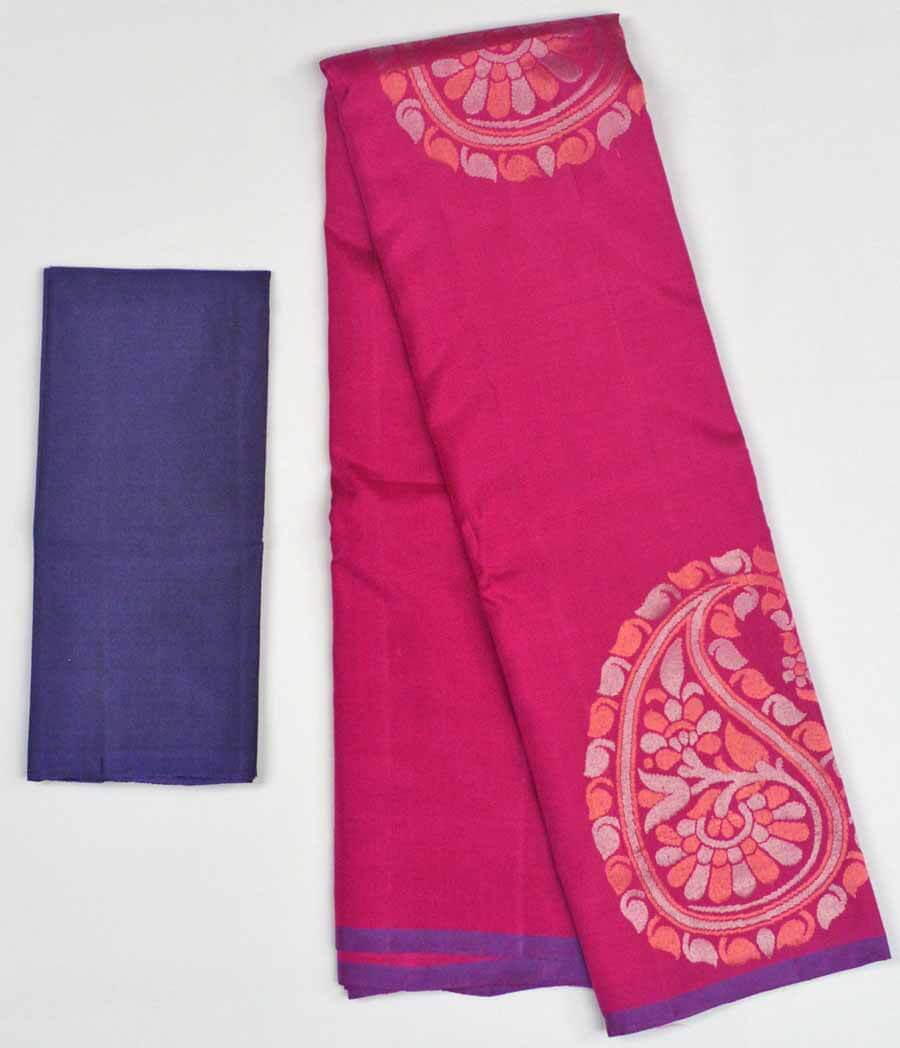Soft Silk Saree 9874
