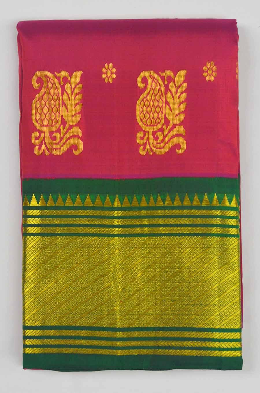 Temple Saree 9739