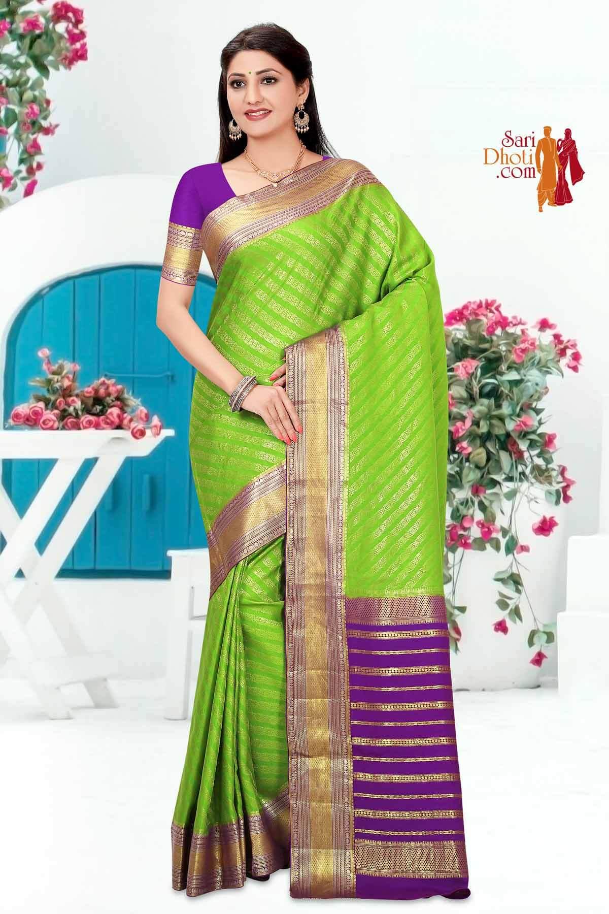 Mysore Silk 9889