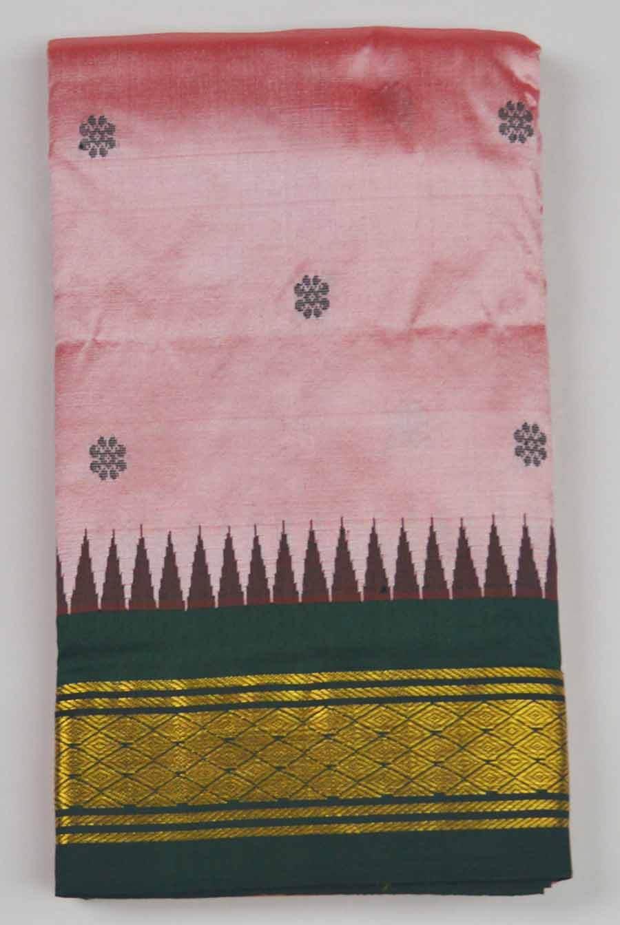 Temple Saree 9788