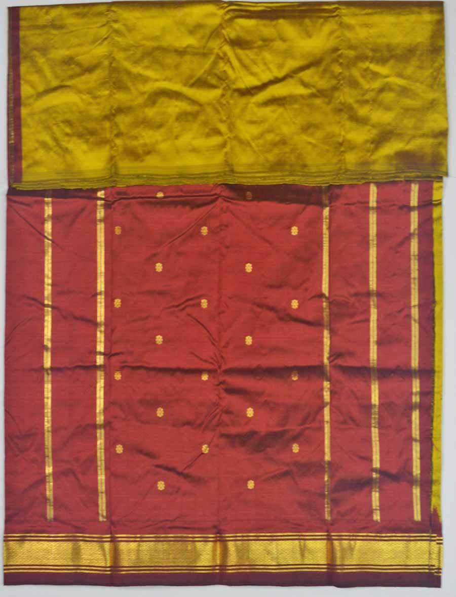 Temple Saree 9836