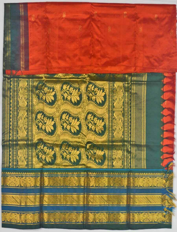 Temple Saree 9842