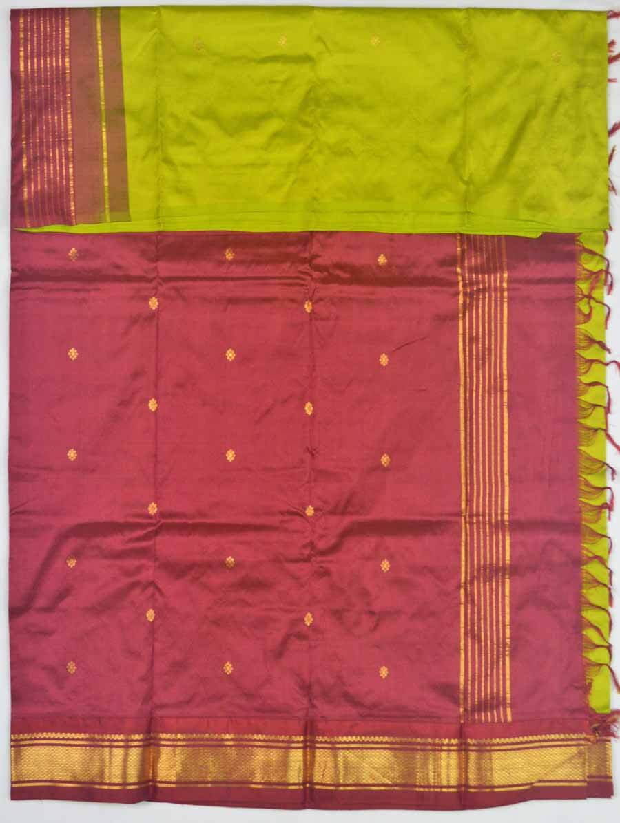Temple Saree 9833
