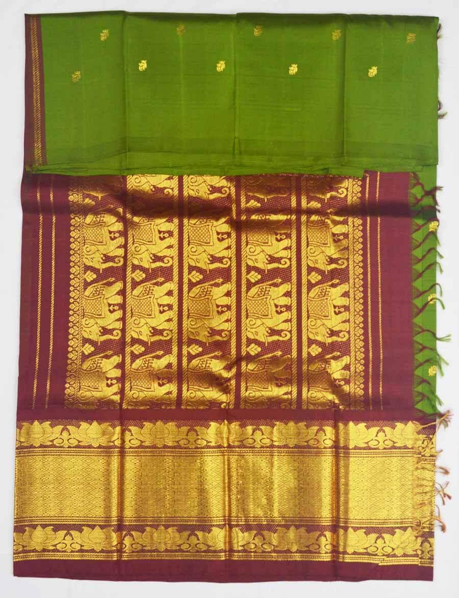 Temple Saree 9943