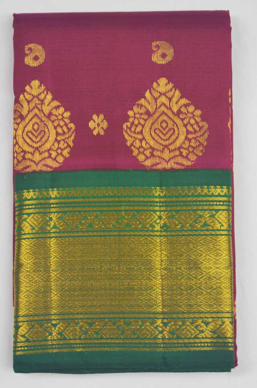 Temple Saree 9961