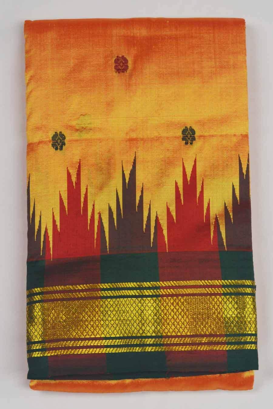 Temple Saree 9936