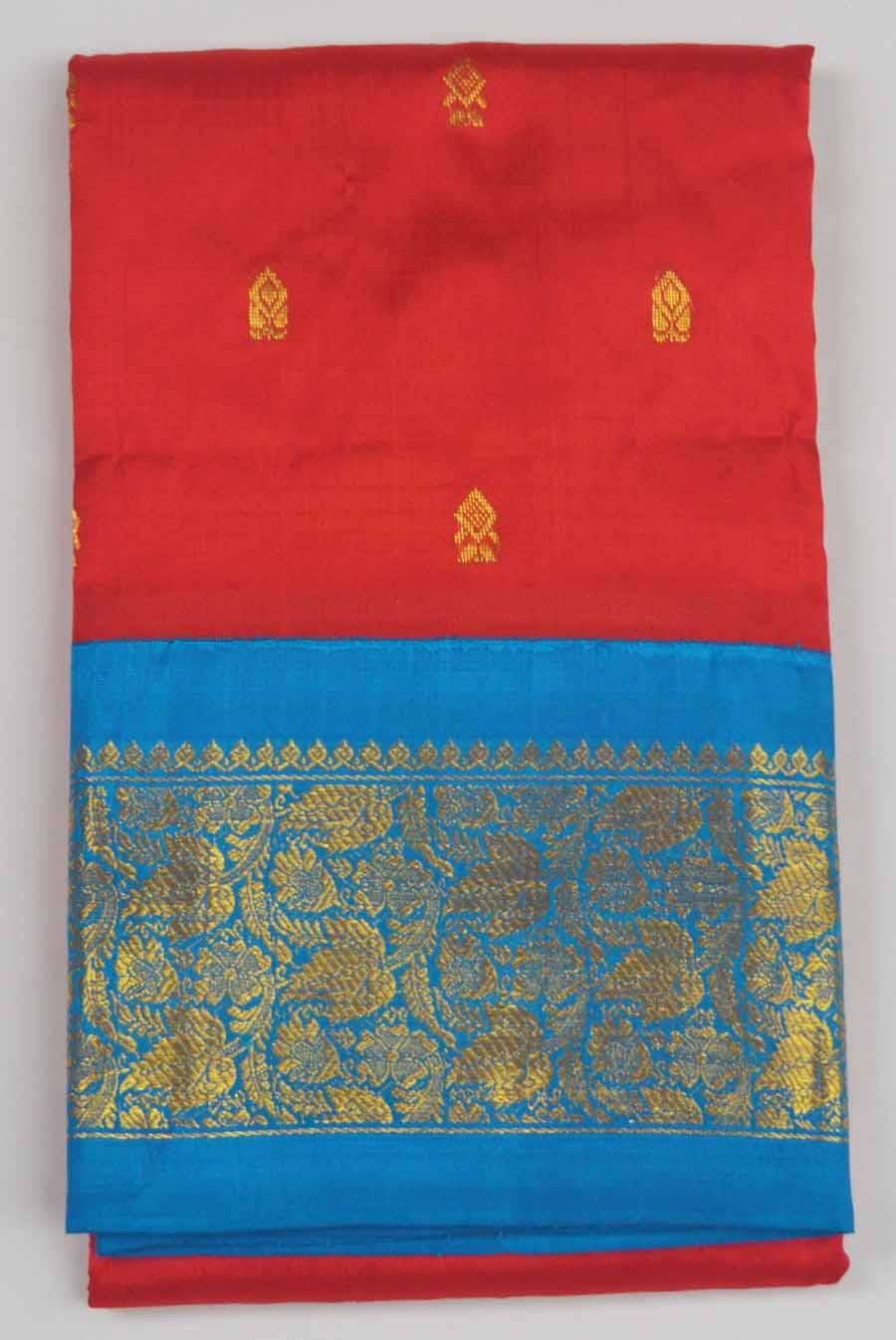 Temple Saree 9942